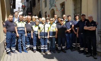Camminata a Belmonte con la Protezione civile