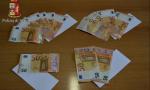 Banconote false fermati dalla Polizia di Ivrea