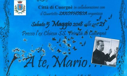 A te, Mario... va in scena il concerto a Cuorgnè