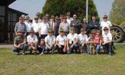 Gruppo Alpini Borgaro battezzato il nuovo gagliardetto dell'85°