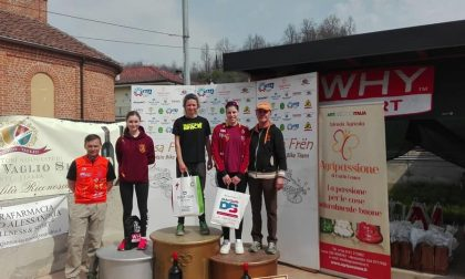Giovani campioni di mountain bike