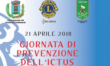 Lions Club Alto Canavese giornata di prevenzione dell'ictus