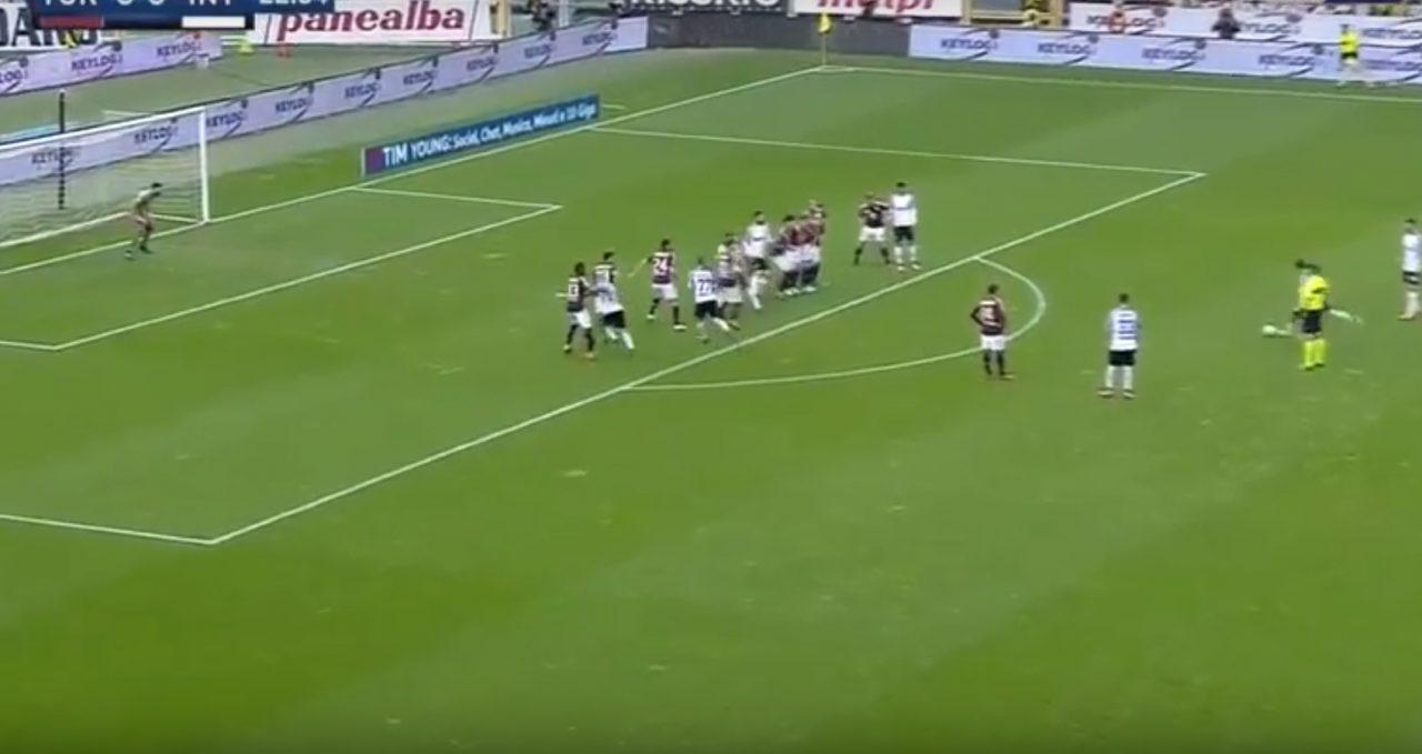 Torino.-Inter: Candreva calcia, uno steward ci rimette la milza