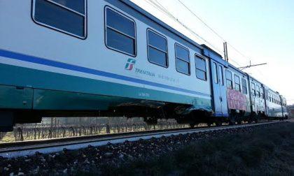 Deraglia treno sulla Savona-Torino