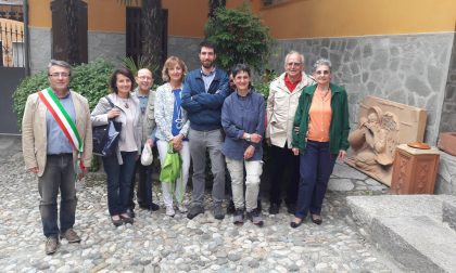Casa museo famiglia Allaira esposto bassorilievo di Delfo Paoletti