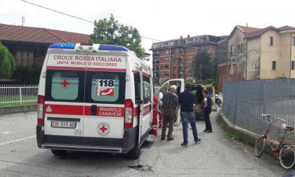 Ciclista investito a Valperga 80enne portato in Ospedale
