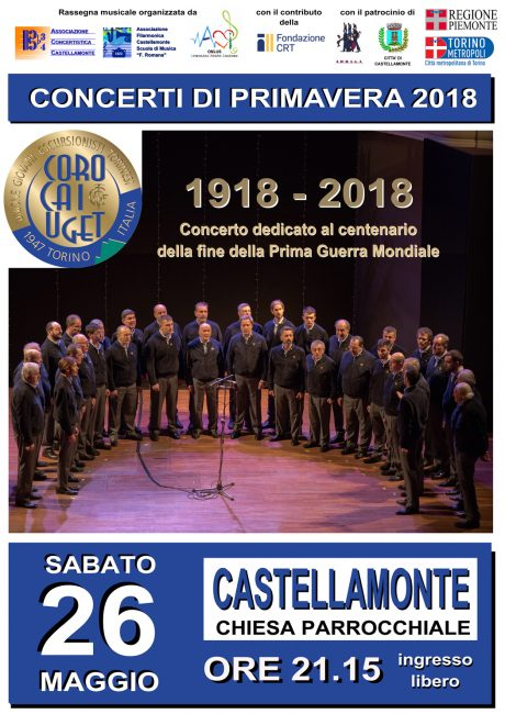 Concerto di primavera sabato a Castellamonte