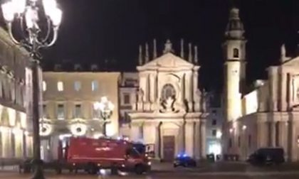 Allarme bomba in piazza San Carlo a Torino