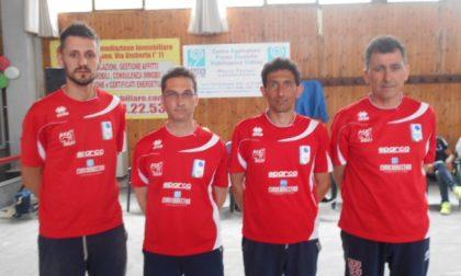 Campionati italiani bocce a Salassa la Brb chiude terza