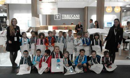 Scuola infanzia Giraudo i piccoli alunni al Salone Internazionale del Libro