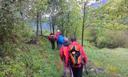 Due escursionisti dispersi salvati dal Soccorso Alpino