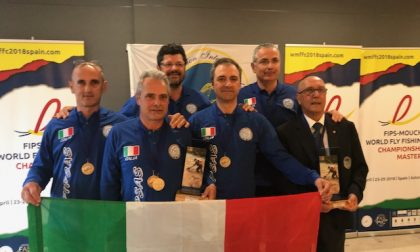 Pesca Lorenzo Milanesi argento mondiale