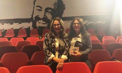 Leini teatro Pavarotti visitato da Nicoletta Mantovani