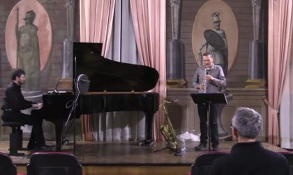Le Jardin Fleuri ospita concerto jazz di Gianni Virone e Daniele Tione