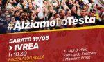 Luigi Di Maio torna a Ivrea e presenta l'accordo di governo