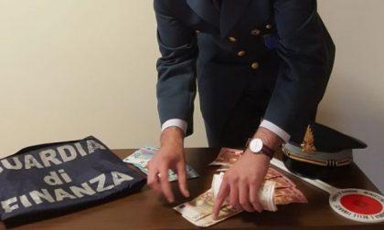 Pioggia di banconote false: sequestrate
