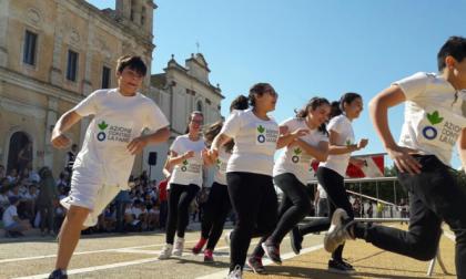 San Maurizio, alunni di corsa contro la fame