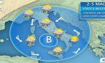 Previsioni meteo acquazzoni per tutto il fine settimana