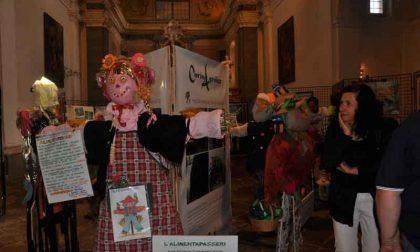 Gli spaventapasseri dell'Agrifest in mostra a Torino