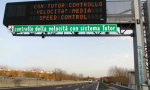 Tutor spenti su tutte le autostrade italiane