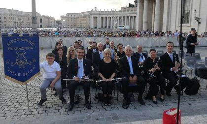 Filarmonica Valle Sacra in concerto per Papa Francesco