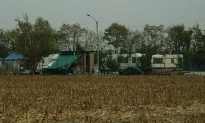 Campo nomadi sgomberato l'area era occupata da 13 anni
