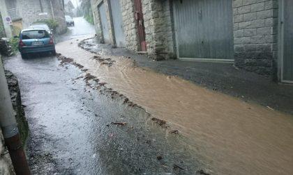 Colata di fango  in paese