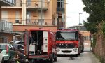 Incendio appartamento in via della Lumaca