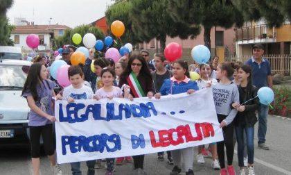 Marcia per la Legalità tanti ragazzi per le vie di Leini