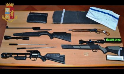 Armi clandestine arrestato dalla Polizia di Ivrea