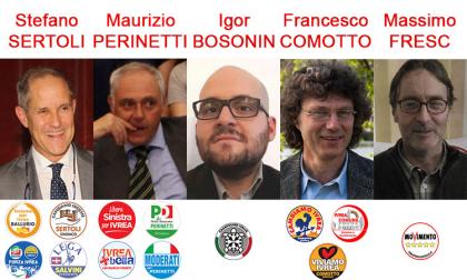 Ivrea comunali 2018, Perinetti in testa