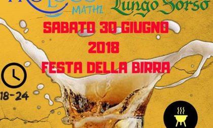 Mathi, Festa della Birra con la Pro Loco