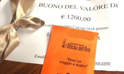 Teatro di Bosconero, estratto il biglietto da 1200 euro
