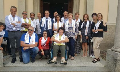 Feletto, San Feliciano portato in processione dai cinquantenni