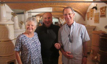 Sharon e Robert dagli Usa a Castellamonte alla scoperta delle proprie origini
