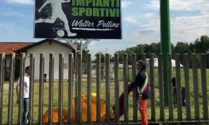 Sport a Valperga intitolato il campo sportivo a Walter Pellino