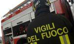 Calcinacci caduti dal cavalcavia allarme in corso Torino a Volpiano