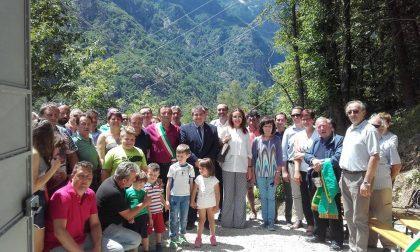Centralina elettrica inaugurata in frazione Rocci