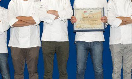 ALMA scuola internazionale: c'è anche un  cuoco di Rivarolo