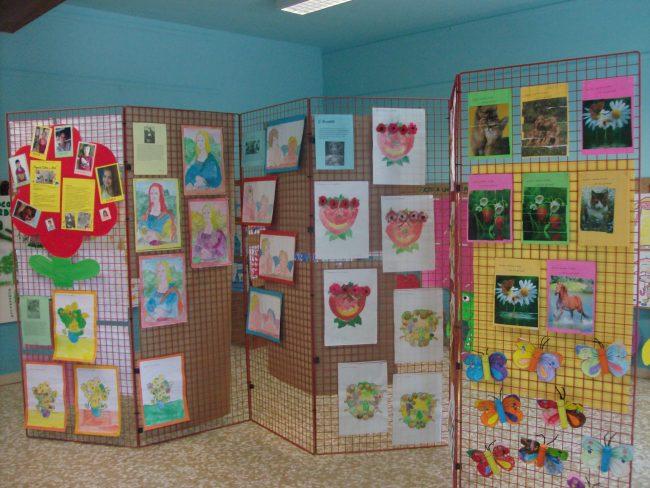 Colore e arte fa centro: un successo la mostra realizzata dai bimbi delle scuole