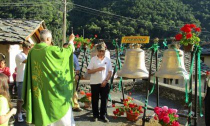 Grazie benefattore tre nuove campane a Chialamberto