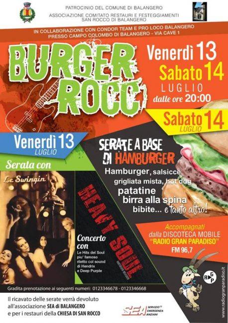 Balangero, hamburger e birra al Burger Rocc