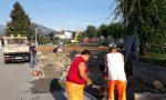 Iniziati i lavori di realizzazione del parcheggio in via delle scuole a Spineto