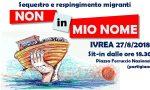 """Nave Diciotti Sit-in """"Non in mio nome"""" a Ivrea lunedì"""