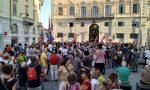 Contro Salvini manifestazione in piazza di Città a Ivrea