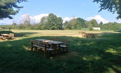 Nuova area pic-nic all'interno del parco Chico Mendes di Borgaro