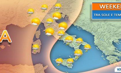 Improvvisi forti temporali bucheranno l'anticiclone