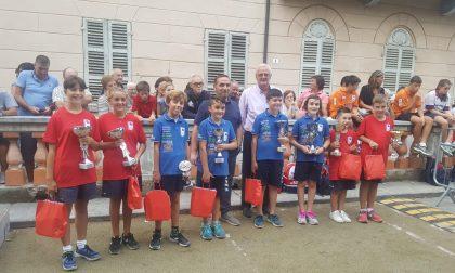 Le bocce in strada a Favria per un primo riuscito torneo