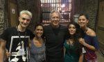 Sul palco con Baglioni la lanzese Anastasia Aiello all'Arena di Verona
