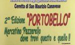 San Maurizio, c'è Portobello, il mercato pazzerello
